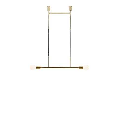 Потолочный светильник копия Wide Step by Volker Haug (золотой)