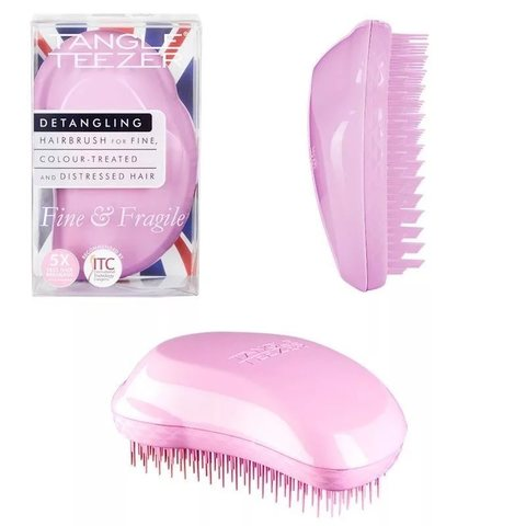 Расческа Tangle Teezer Fine & Fragile Pink