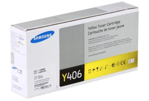 Картридж Samsung CLT-Y406S (SU464A) желтый
