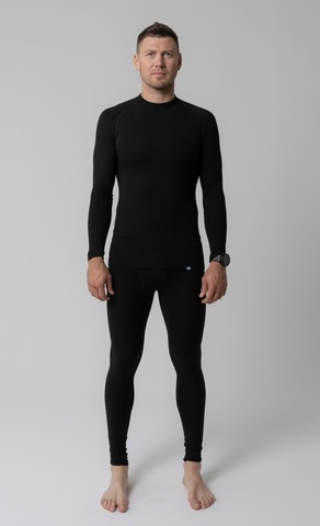 Комплект термобелья Nordski Active Pro black мужской