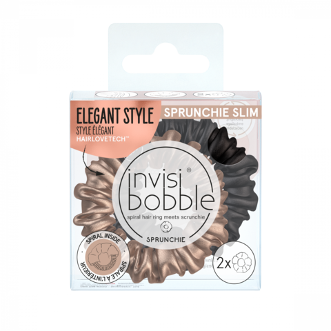 invisibobble Резинка-браслет для волос  SPRUNCHIE SLIM True Golden