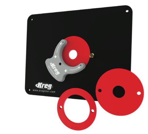Пластины Kreg для крепления фрезера во фрезерный стол