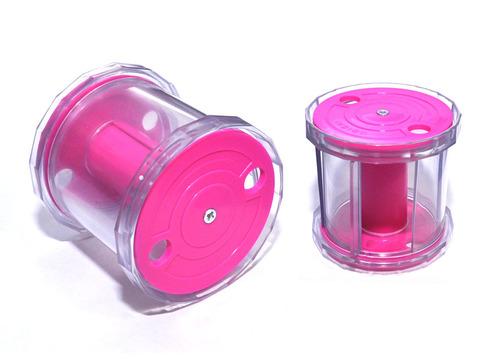 Катушка для лент художественной гимнастики INDIGO LOTTY, цвет:розовый, фиолетовый