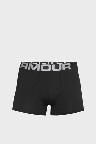 Мужские черные боксеры (3 пары) UA Charged Cotton Under Armour