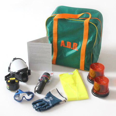 ADR комплект для опасных грузов, которым присвоен знак опасности № 6.1 (по ДОПОГ)
