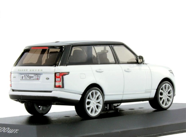 Коллекционная модель Range Rover Vogue 2013