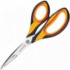 Ножницы Maped 180 мм с пластиковыми прорезиненными анатомическими ручками оранжевого/черного цвета