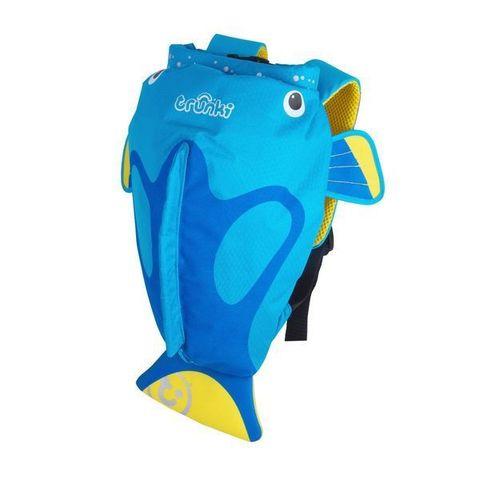 Рюкзак для бассейна и пляжа Коралловая рыбка, голубой