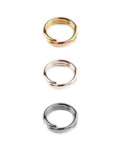 Соеденительное кольцо двойное  5,5 мм., (выбрать цвет)