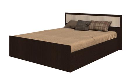 Кровать 1,6м Фиеста БТС Венге/лоредо