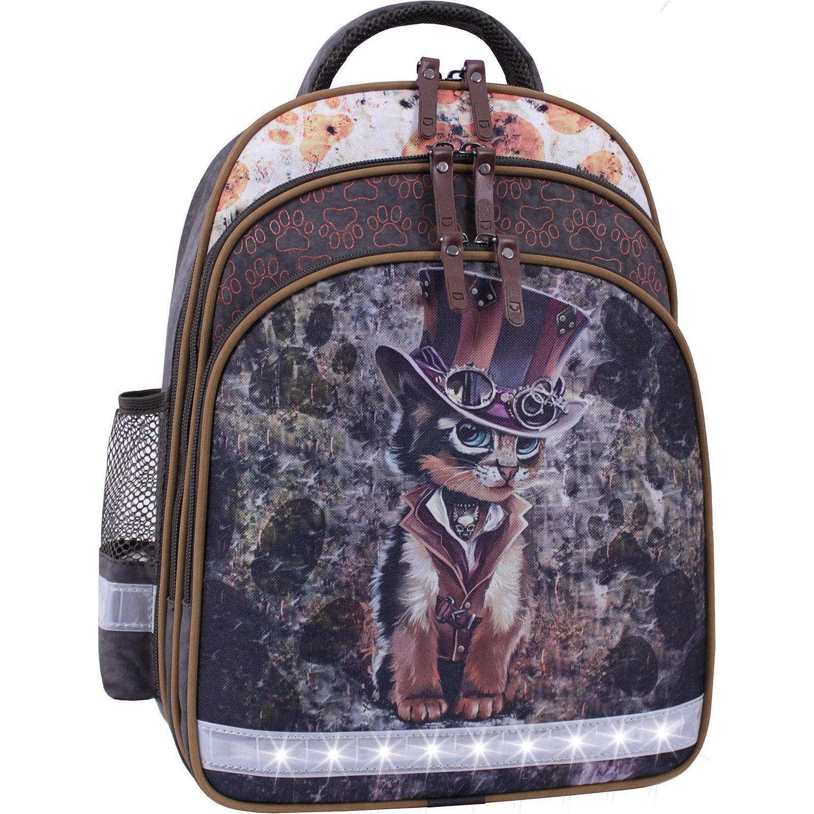 Рюкзак школьный Bagland Mouse 327 хаки 513 (0051370) фото 2