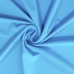 Купить голубой бифлекс для гимнастического купальника Spring Sky