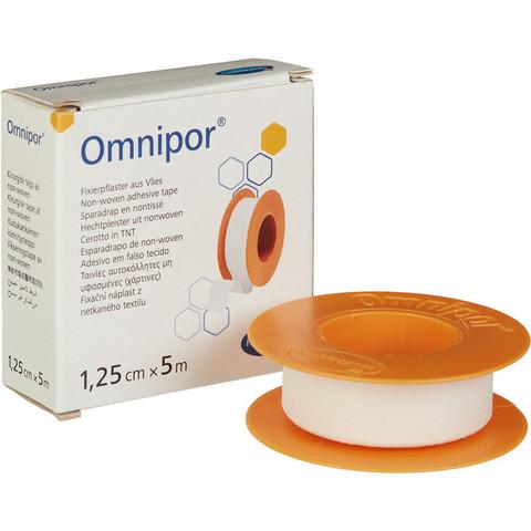 Пластырь фиксирующий Omnipor 1.25x500 см нетканая основа