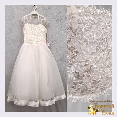 Платье на корсете девочке (7-9) 201130-OF4437