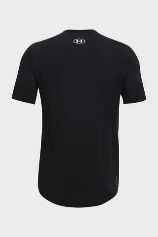 Мужская черная футболка UA HG IsoChill Perforated SS Under Armour