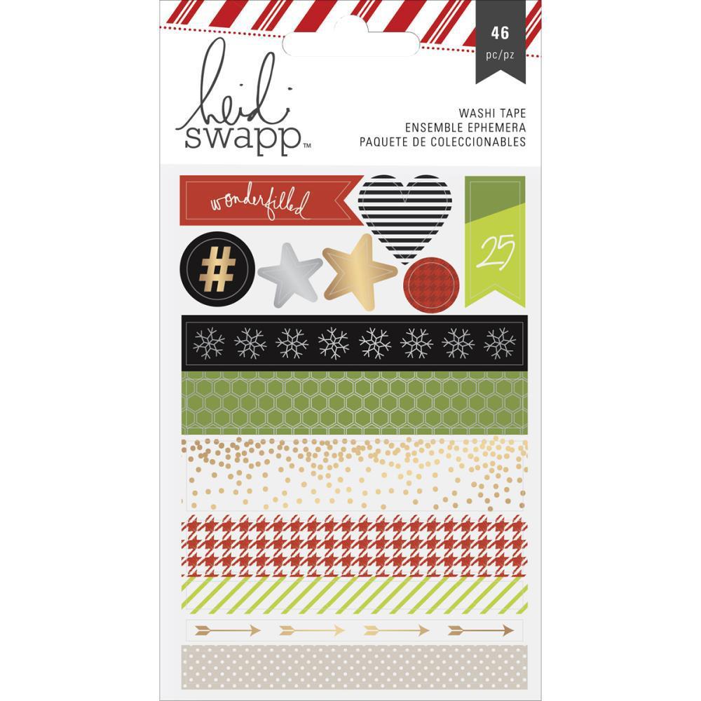 Набор стикеров -скотчей Oh What Fun от Heidi Swapp