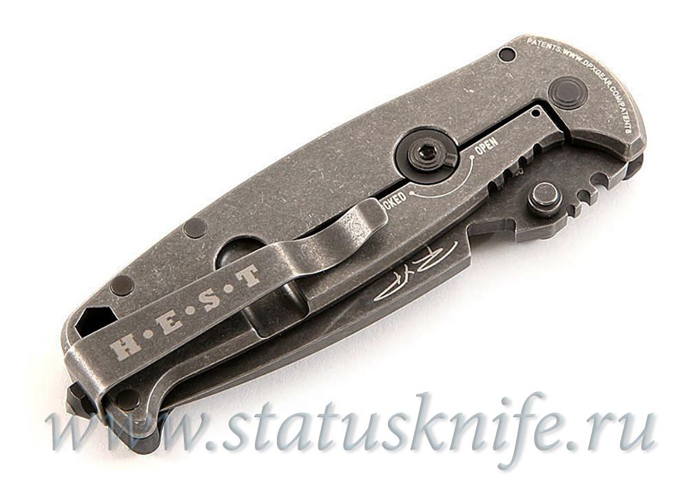 Нож DPx Gear HEST/F SHRED, CARBON FIBER - фотография