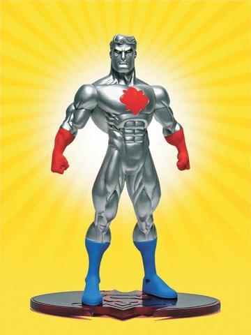 Фигурка Captain Atom (Супермен/Бэтмен: Враги общества)
