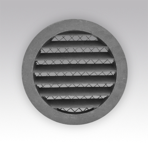 Антивандальная алюминиевая наружная решетка Эра 31.5 РКМ