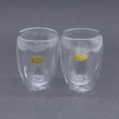 Чашка стекло 2 слоя, 160 мл
