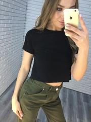 джинсы цвета хаки женские оптом