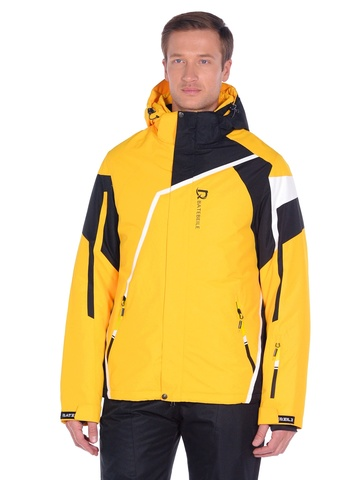 Горнолыжная мужская  куртка BATEBEILE желтого цвета.