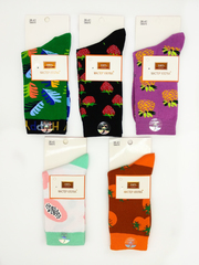 Носки женские цветные ( 5 пар ) арт.DB4075