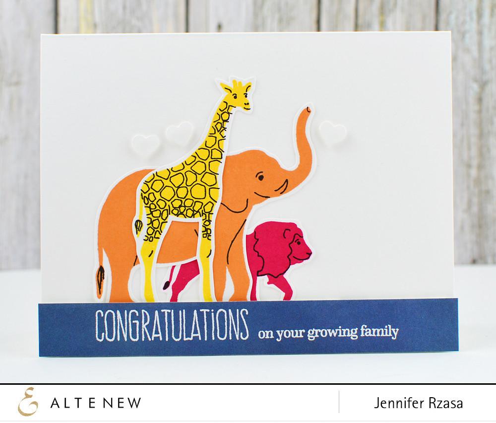 Штампы Baby Zoo