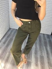 джинсы цвета хаки женские nadya