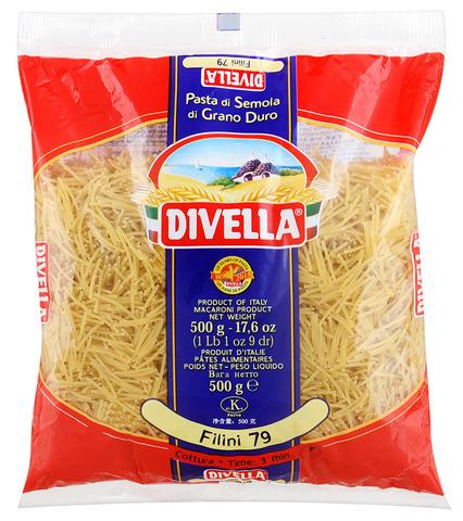 Макароны ФИЛИНИ (Divella-Italy) Бахрушинъ 0,5кг