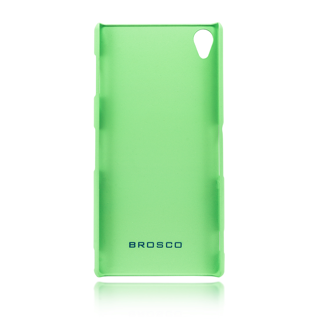 Пластиковая накладка Brosco для Xperia Z3 зелёного цвета в Sony Centre
