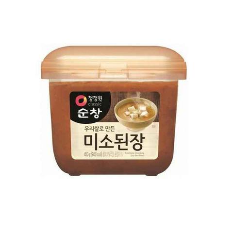 Корейская соевая паста  с экстрактом моллюсков и анчоусов Daesang 450 гр
