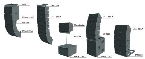 Линейные массивы FBT Mitus 206LA