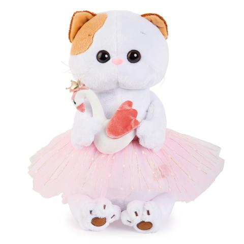 Кошечка Ли-Ли балерина с лебедем
