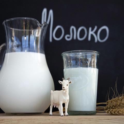 Фотография Козье молоко цельное / 0,5 л купить в магазине Афлора
