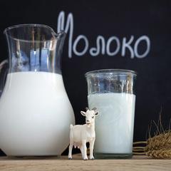 Козье молоко цельное / 0,5 л