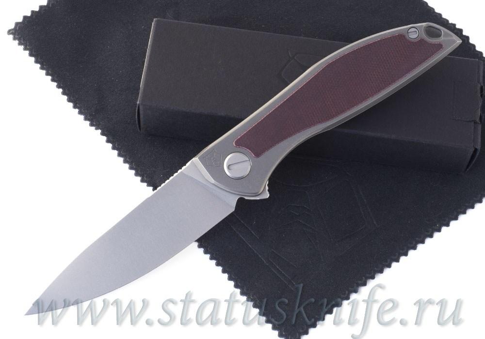 Нож Широгоров Неон NeOn NL Elmax micarta maroon
