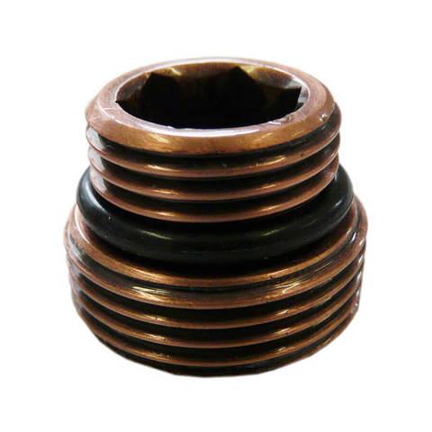 Ниппель Антическая медь с уплотнением Размер 1/2 x 3/4 под EURO KONUS
