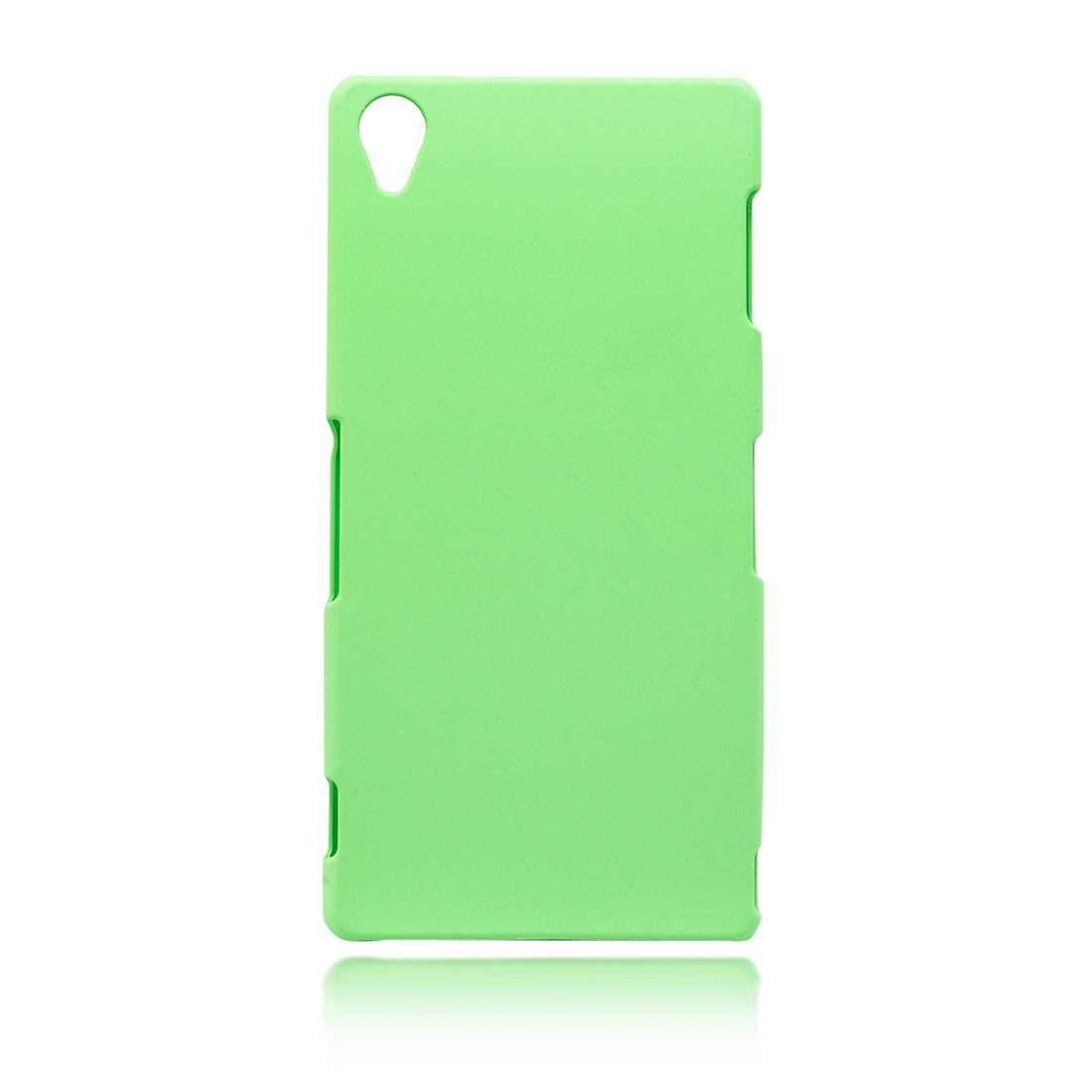 Пластиковая зелёная накладка для Xperia Z3 в Sony Centre