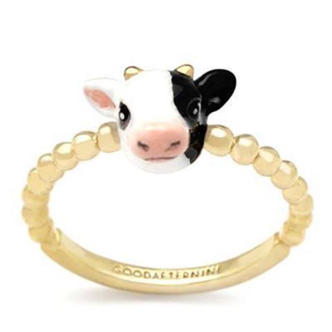 Мини-кольцо Бык