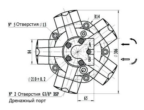 Гидромотор IPM3-450