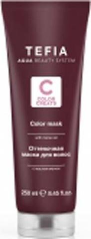 Оттеночная маска для волос с маслом монои Бежевая , Tefia Color ,250 мл.