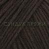 Пряжа Gazzal Baby Cotton XL 3436 (горький шоколад)