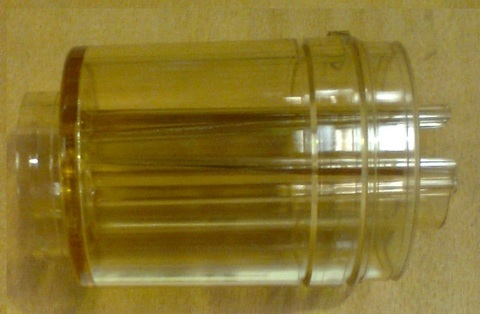 11172 Стакан прозрачный для счетчика молока IDC 2