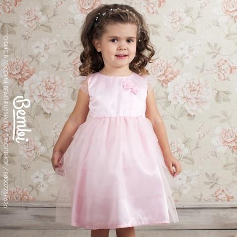ПЛ151 Платье для девочки нарядное