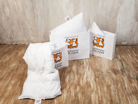 Подушка детская стеганая 50x68 «Kinder95C»