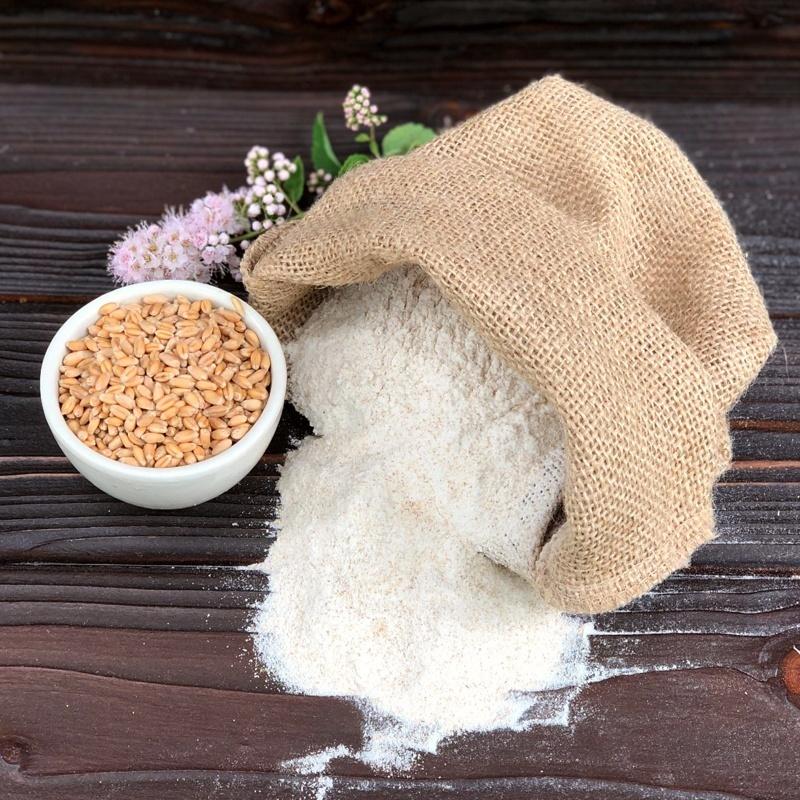 Фотография Мука пшеничная цельносмолотая 0,5 кг купить в магазине Афлора