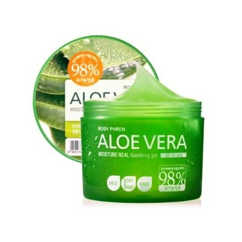 ВЛК Kwailnara Гель для тела успокаивающий Aloe vera Moisture Real Soothing Gel 300
