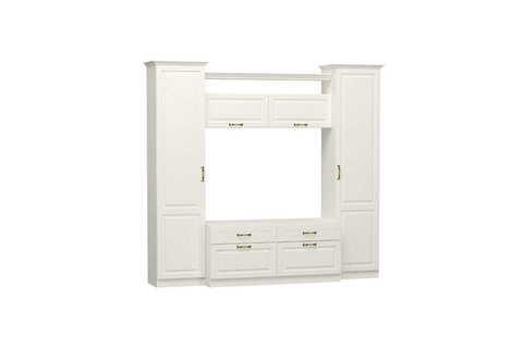 Набор мебели для гостиной Ливерпуль 1 Моби белый/ясень ваниль
