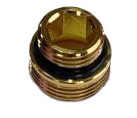 Ниппель Золото с уплотнением Размер 1/2 x 3/4 под EURO KONUS